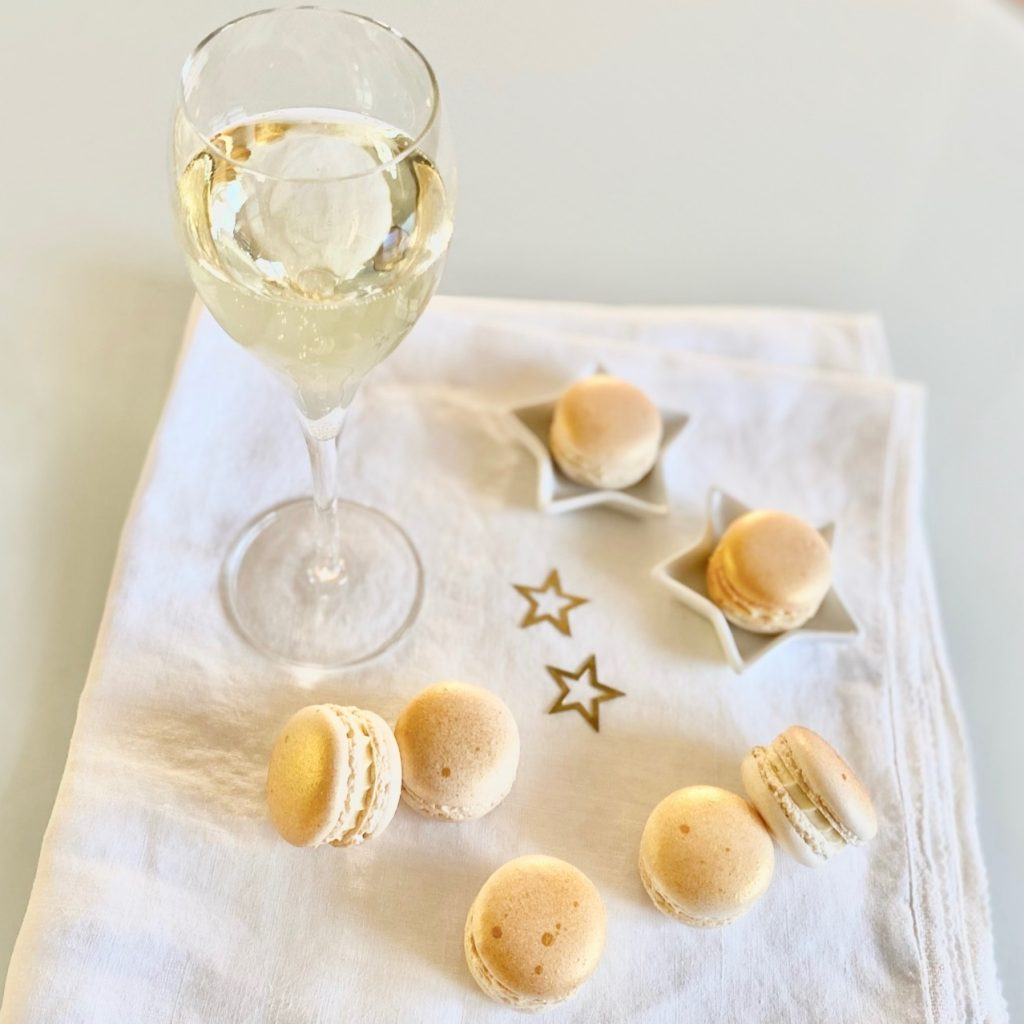 Champagner Und Macarons